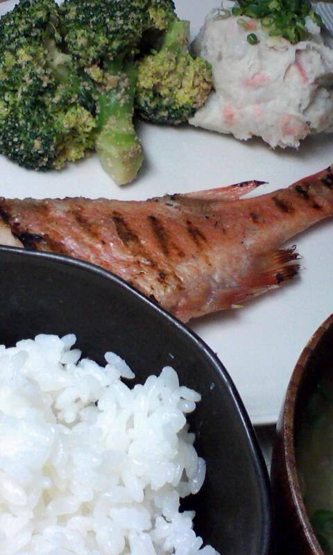 続・グリルパンで魚を焼く