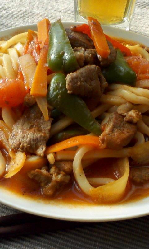 新彊村の拉麺が懐かしくて