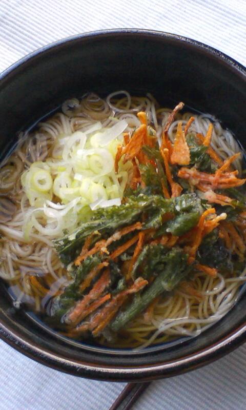 かき揚げ素麺