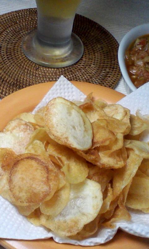 ポテトチップス&サルサソース