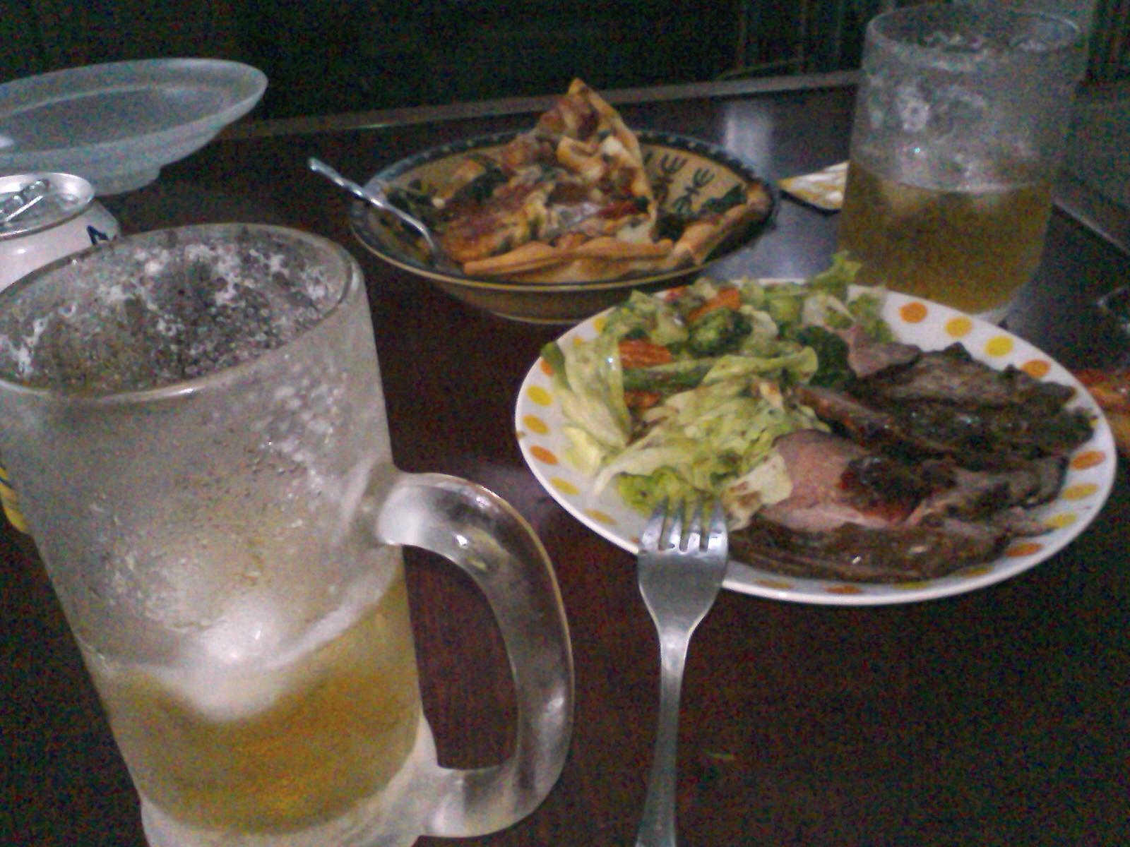 父と二人飯